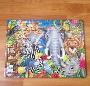 Wood Jungle Puzzle New