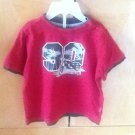 BABY RED WITH PUMPKIN PATCH LOGO DECORATION SZ 24M