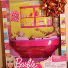 2010 Mattel Barbie Doll on a bath tub, new in box