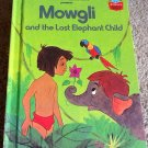 Mowgli and the Lost Elephant Child Walt Disney Vintage Jungle Book 1978