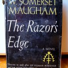 The Razor's Edge Somerset Maugham 1944 Hardcover Collectible Book