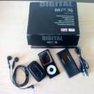 Digital MP3 - MP4 Audio FM Player - 4GB