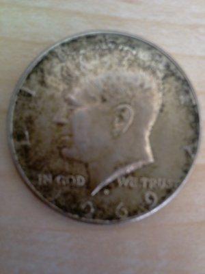 Kennedy Half Dollar - 1969- 40% Silver