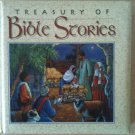 TREASURY of BIBLE STORIES BOOK Children Jesus Story