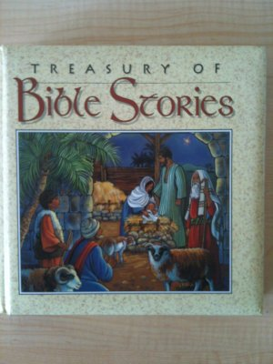 TREASURY of BIBLE STORIES BOOK Children Jesus Story