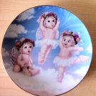 HEAVENLY PIROUETTES - 1995 Limited Edition *DREAMSICLE* Collectible Plate 1 of 6