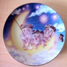 BY THE LIGHT OF THE MOON - 1995 Limited Edition *DREAMSICLE* Collectible Plate 1 of 6