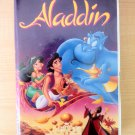 Aladdin Walt Disney's (VHS, 1993) Good condition with original Clamshell Box