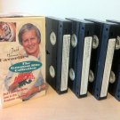 Jack Hanna's Favorites Animal Adventures Greatest Hits Collection 4 VHS Tapes