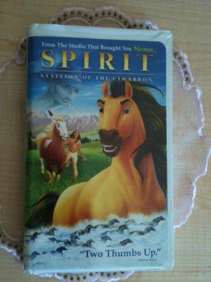 Spirit - Stallion of the Cimarron VHS