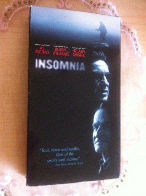 INSOMNIA Al Pacino ROBIN WILLIAMS Hilary Swank SUSPENSE DRAMA VHS Excellent!