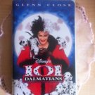 101 Dalmatians VHS Disney -  Live Action