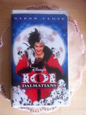 101 Dalmatians VHS Disney -  Live Action
