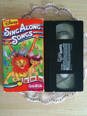Disney's Sing Along Songs - The Lion King: Circle of Life (VHS, 1994)