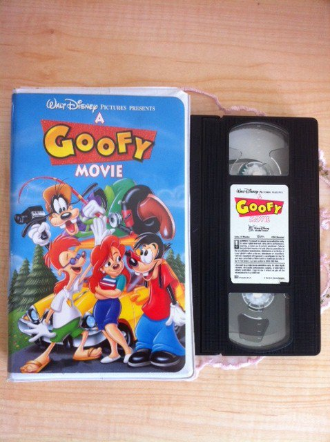 disney a goofy movie animated vhs