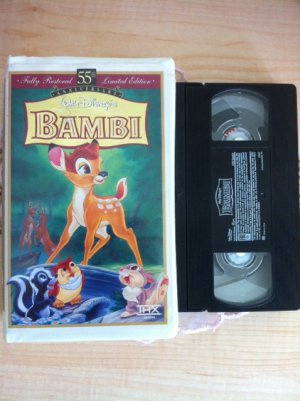 Walt Disney's Bambi (VHS) Fully Restored 55th Anniversary Limited Edition