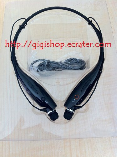 Black HBS 730 Stereo Bluetooth headset for wireless music plus call functionality