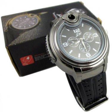 New Wrist Watch Style Cigarette Lighter Refillable Butane Gas Cigar Fuel Lighter