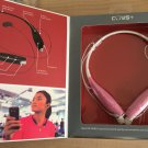 Pink HBS 730 Stereo Bluetooth headset for wireless music plus call functionality - New