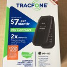 LG 440G Tracfone NEW in Box 2 x Minutes Bluetooth 3G Speed Phone 1.3 MP Camera - 250 FREE MINUTES