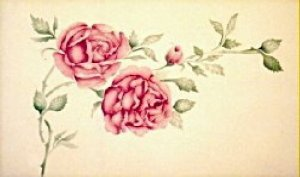 China Rose Painting Stencil Wall Stencil
