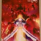 Fate/Zero Aniplex DVD Postcard Flyer