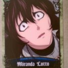 D.Gray-Man Trading Card Vol.2 #41 Miranda Lotto