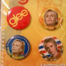 Glee Sue Sylvester 4 Button Set