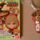 Tiger & Bunny Deformeister Petit Rubber Collection Key Ring Doc Saito