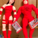 "Marvel's Daredevil & Elektra 14"" Bendable Plush toys brand new w/ Original tags"