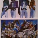 Mobile Suit Gundam 00 Large Stickers Set of 2