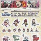 Sengoku Basara Sticker Seals