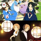 K-On! The Movie HTT's Adventures in Wonderland/Natsume Yuujin-Chou Double-sided Pin-up