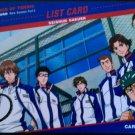 The Prince of Tennis Trading Card No. 89 - New Season Part 3 List Card No. 1