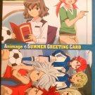 Inazuma Eleven Go! Oversized Summer Greeting Postcard Set of 2
