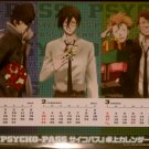 Psycho-Pass 3-Month Desk Top Calendar Card