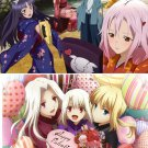 Guilty Crown / Fate/Zero Double sided Calendar Pin-up