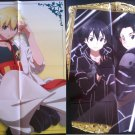 Magi The Labyrinth of Magic/Sword Art Online Double sided Poster