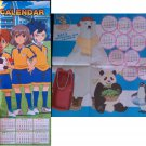Inazuma Eleven GO / Shirokuma Cafe Double sided 2013 Calendar Poster