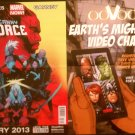 Uncanny X-Force/Earth's Mightiest Video Chat Poster