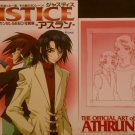 Mobile Suit Gundam Seed Photo Album Justice ~Athrun~ w/Folded B2 Poster