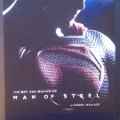 The Art and Making of Man of Steel by Daniel Wallace Promo Flyer
