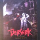 Berserk: The Golden Age Arc 1 The Egg of the King Promo Flyer