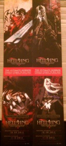 Hellsing BLU-Ray Bookmark Set of 2