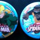 Marvel Ultimate Spider-Man Button Set (Iron Fist & Power Man)
