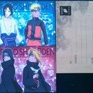 Naruto Shippuden Stationary Set of 2 Paper Sheets + Envelope