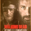The Walking Dead/Freakshow-Immortalized AMC Shows Ad Flyer