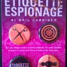 Gail Carriger's Etiquette & Espionage 4 Button Set