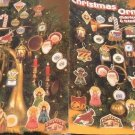 Christmas Ornaments charted for Cross-Stitch & Needlepoint