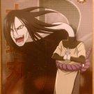 Naruto Ninja Ranks Orochimaru Card NW8 Foil Mint